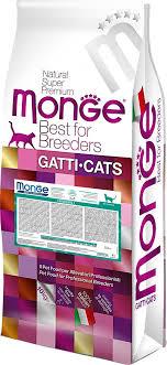 "Корм сухой для кошек Monge ""<b>Cat</b> Hairball"", для выведения ..."