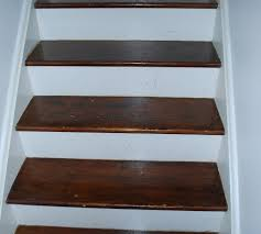 How To Hardwood Stairs Refinishing An Hardwood Staircase 8 Steps With Pictures