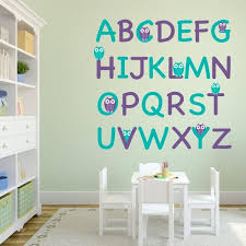 vinyl wall letters and graphics adhesive wall vinyl decorations pertaining to wall decals letters plan  on adhesive wall art letters with purple and turquoise owl alphabet wall decal set wall decal world