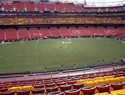 Redskins Seating Chart View Fedex Field Section 323 Seat Views Seatgeek