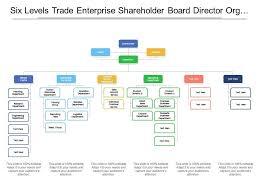 Enterprise Chart Six Levels Trade Enterprise Shareholder Board Director Org
