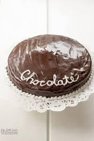 Single Layer Chocolate Ganache Cake Recipe