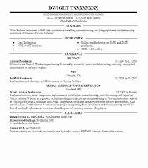 Resume Aircraft Mechanic Barca Fontanacountryinn Com