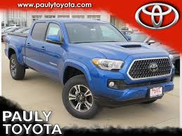 New 2018 Toyota Tacoma TRD Sport 4D Double Cab in Crystal Lake ...