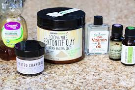 diy activated charcoal face mask homemadeforelle com
