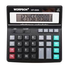 Financial Calculator Worpson Wp 8888 Desktop Computer Business Financial Calculator
