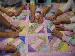 North Walton Co. Catholic Churches & Prayers and Squares - Prayer Quilt Ministry - We are a group of ladies that  happily work this ministry at St. Margret of Scotland Catholic Church. Adamdwight.com