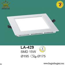 Đèn LED Âm 15W EUROTO LA429 Ø195