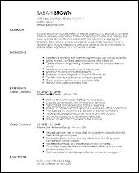 youth counselor resume camp counselor job description for resume summer job camp counselor