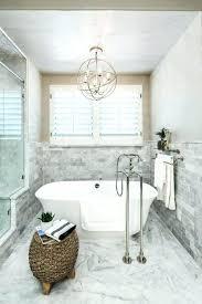 bathroom crystal chandelier home