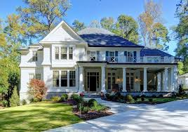 shingle style house plans. A White Two Story Traditional House With Front Porch Stock Photo | Exterior Pinterest House, Porches And Shingle Style Plans