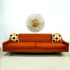 mid century modern couches. Image Of: Orange Color Mid Century Modern Couch Couches C