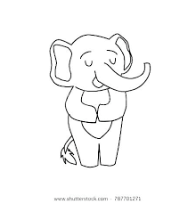 Cartoon Elephant Coloring Pages Cartoon Elephant Coloring Pages Baby
