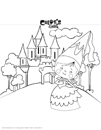 Most Interesting Coloring Pages And Games Castles Online