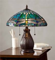 tiffany stained glass lamp. Allendale Dragonfly Tiffany Stained Glass Table Lamp Lamps Lighting With Regard To Plan 9