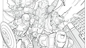 Marvel Coloring Pages At Free Printable Coloring Pages Characters