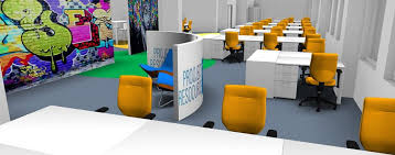 office interior colors. Yellow-color-office Interiors Office Interior Colors