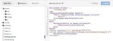 i ve created a new page led sitemap xml