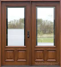 solid wood double entry doors with glass stunning double doors with glass exterior double doors solid