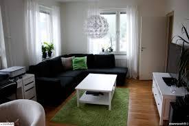 green black living room
