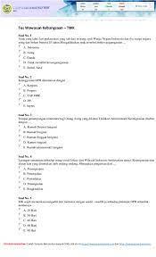 Berikut ini 50 contoh soal tes karakteristik pribadi (tkp) yang disertai dengan kunci jawabannya. Soal Tes Cpns Dan Kunci Jawaban Research Papers Academia Edu