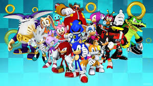 sonic the hedgehog wallpapers awesome sonic the hedgehog and friends wallpaper by sonicthehedgehogbg on