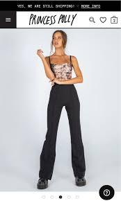 Princess Polly Jensen Pants, Women's Fashion, Clothes, Pants, Jeans &  Shorts on Carousell