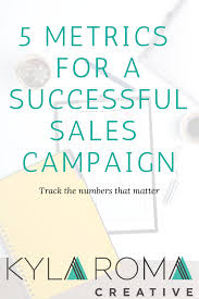 track sales online the 5 metrics to watch for a successful sales campaign number