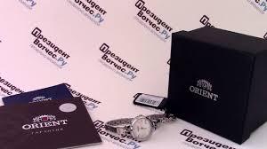 <b>Часы Orient SZ40004W</b> - видео обзор от PresidentWatches.Ru ...