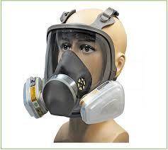 industry safety gas mask full face for work masks respirator breath spray paint pesticide respirator dust chemical gas mask in masks from security
