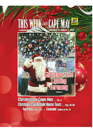 Holiday Lights Trolley Tour Philadelphia This Week In Cape May Nov 22 Jan 2 2020 By This Week In
