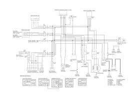 honda trx wiring diagram wiring diagrams and schematics honda trx125 fourtrax 125 1986 g usa wire harness schematic