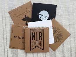 custom make kraft paper cd dvd sleeves case envelopes gift jewelry packaging box bag logo st printing your logo