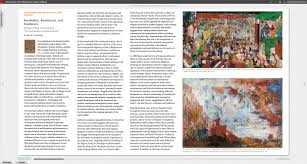 online exhibition catalogue james ensor the temptation of saint  this screenshot shows an example of how an essay is composed in the catalogue
