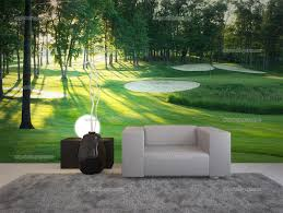 golf wallpaper murals