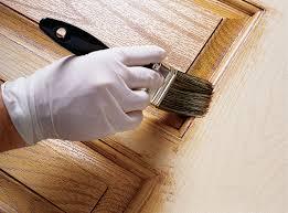 staining fiberglass doors remove streaks