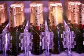 Moet Vending Machine For Sale Stunning Fancy Some Bubbly Champagne Vending Machine Uses Robotic Arm To