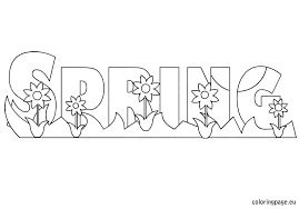 Springtime Coloring Pages Springtime Coloring Pages For Adults Free