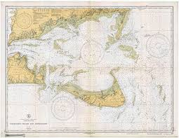 Historical Noaa Chart Of Nantucket Sound And By