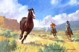 wild horses paintings best painting 2018