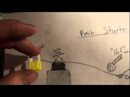 how to wire a push starter (very easy) youtube Crocodile Diagram at 1999 Cougar Remote Wire Diagram
