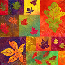 491 best Leaf Quilts ... images on Pinterest | Autumn quilts, Fall ... & autumn leaves quilt. Use the background colors and applique the leaves. Adamdwight.com