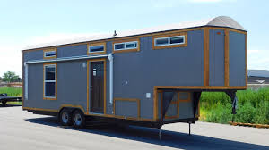 tiny house toy hauler rv a tiny house on wheels with a garage le tuan home design