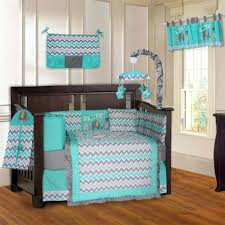 teal crib bedding elephant turquoise and grey piece baby crib bedding set c teal gray baby