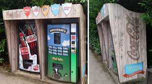 Coca Cola Vending Machine Uk Magnificent Positive CocaCola Vending Machine Shrouds