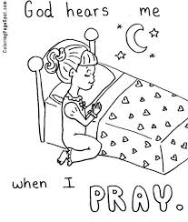 Prayer Coloring Pages To Print 6930 Bsacorporate