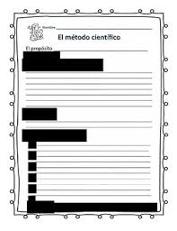 Scientific Method Worksheet In Spanish And English By Stevens ...