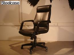 luxury leather office chair. SALE Steelcase / Luxury Leather Office Chair Pasoconcea American Highback Lift Recliner