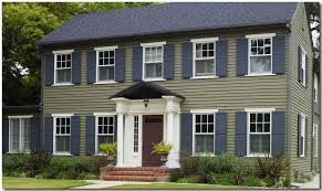 exterior paint colors for colonial style house. exterior classic colonial paint colors. behr-sierra-pine-exterior-house- colors for style house