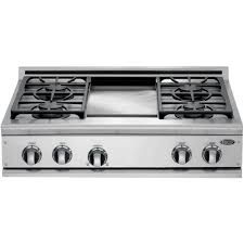 36 inch gas cooktop with griddle. Exellent With DCS 36Inch Gas Cooktop With Griddle By Fisher Paykel  CP364GD For 36 Inch I